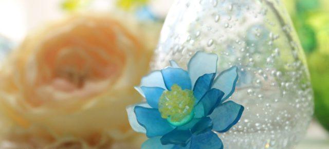 WSのお知らせ「プラバンで作るステキなお花のアクセサリー」2019.2.16  世界らん展2019 -花と緑の祭典- in 東京ドームシティー