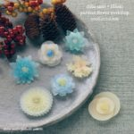 ワークショップのお知らせ:11/20「和菓子のようなお花のプラバンアクセサリーづくり」