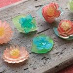 ワークショップのお知らせ「和菓子の様なプラバン 耳飾りづくり」2017.12.3