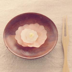 プラバン 立体 花 アクセサリー